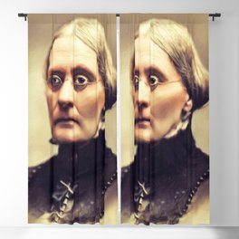 Susan B. Anthony, Feminist Rights Blackout Curtain
