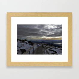 The Summit Framed Art Print