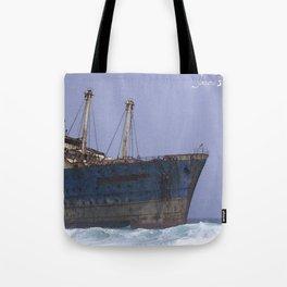 Blue boat colors fashion Jacob's Paris Tote Bag