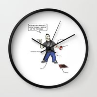 tool Wall Clocks featuring Tool Hooker by D-fens