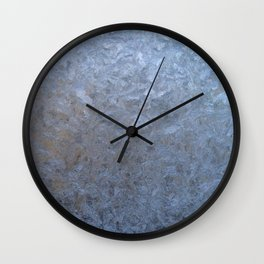 The freezing glass. Wall Clock