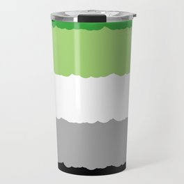 Aromantic Pride Travel Mug