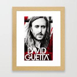 DAVID GUETTA  Framed Art Print