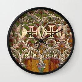 Batalha gothic tracery Wall Clock