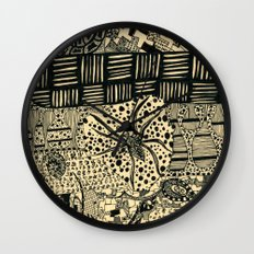 cob web Wall Clock
