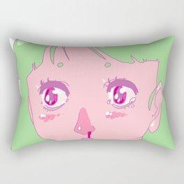 wasnt ready Rectangular Pillow