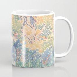 The Artist's Garden at Saint-Clair by Henri-Edmond Cross 1904-5, French Coffee Mug
