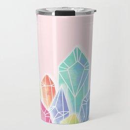 Crystals Pink Travel Mug