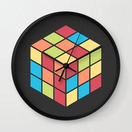 #68 Rubix Cube Wall Clock