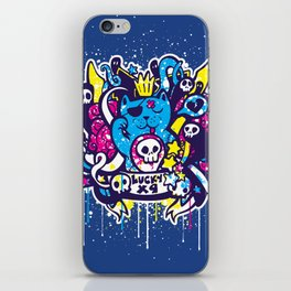 Unlucky Kitty iPhone Skin