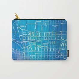 Folk City Map No. 2 Carry-All Pouch