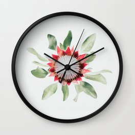 King Protea II Wall Clock