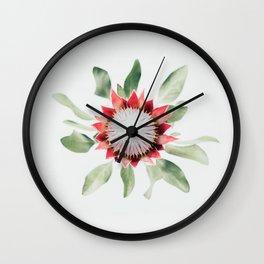 King Protea II Wall Clock