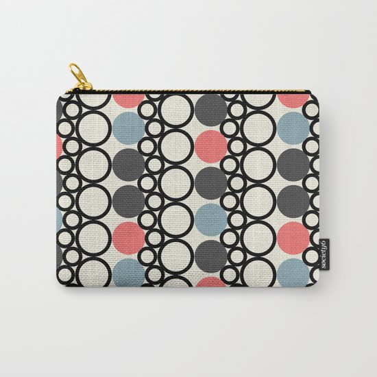 circle pattern Carry-All Pouch