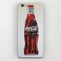 coca cola iPhone & iPod Skins featuring Coca-Cola by Marta Barguno Krieg
