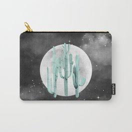 Cactus Nights Full Moon Starry Sky Sage by Nature Magick Carry-All Pouch