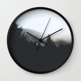 Morning Forest Explore Wall Clock
