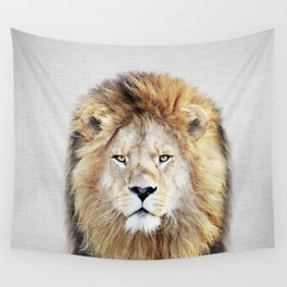 Lion 2 - Colorful Wall Tapestry