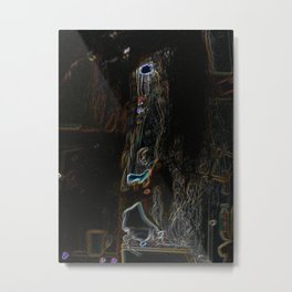 Hell Of A  Room; Robot On The Loose. Metal Print