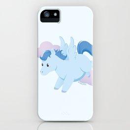 Kawaii fantasy animals - Pegasus iPhone Case