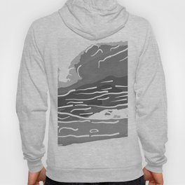 abstract style aurora borealis absbwi Hoody