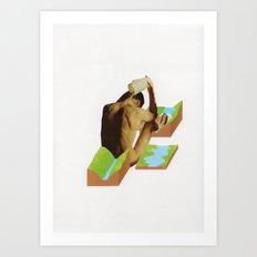 Badet Art Print