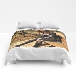 Clockwork lady Comforters