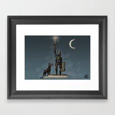 Sword & Sworcery Framed Art Print