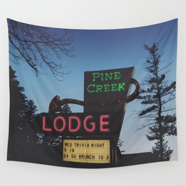 Pine Creek Lodge Wall Tapestry