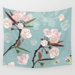 Cherry-Blossoms Wall Tapestry