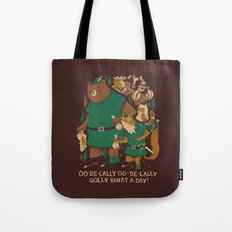 oo-de-lally (brown version) Tote Bag