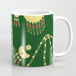 Traditional jewelery green Coffee Mug