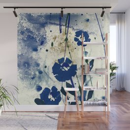 Dreaming In Blue 100f by Kathy Morton Stanion Wall Mural