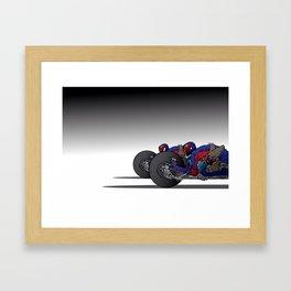judges bikes Framed Art Print