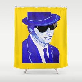 Elwood Blues 1 Shower Curtain