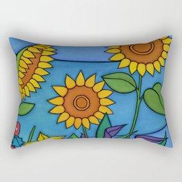 Sunflower Dance Rectangular Pillow