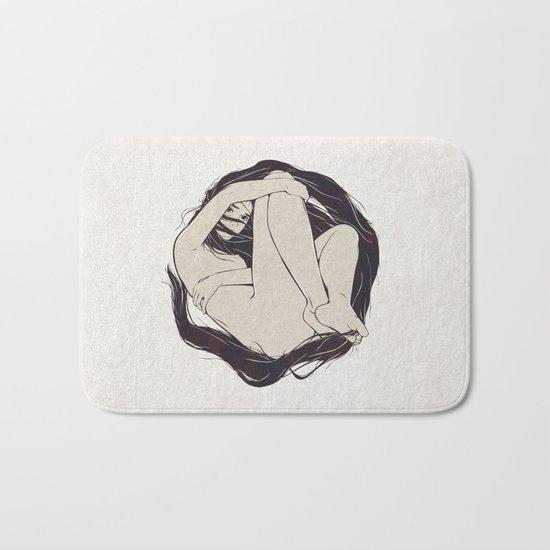 My Simple Figures: The Circle Bath Mat
