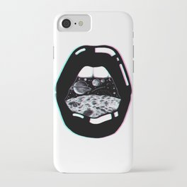 Space Lips iPhone Case