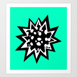 Star of Dalmatians Art Print