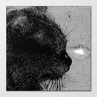 boss Canvas Prints featuring Boss by Leffan