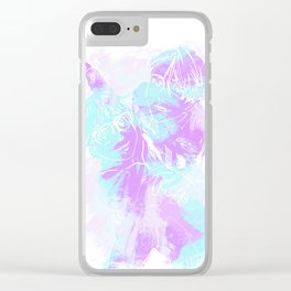 Ice Dance Clear iPhone Case