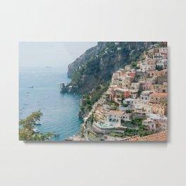 Italy. Amalfi Coastline Metal Print