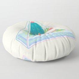 Ocean terrarium - Sea slug Floor Pillow