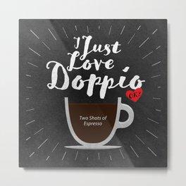 Coffee Lovers Metal Print