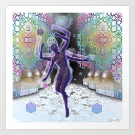 Amaranthine's Dance Art Print