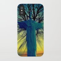 jesus iPhone & iPod Cases featuring jesus by  Agostino Lo Coco
