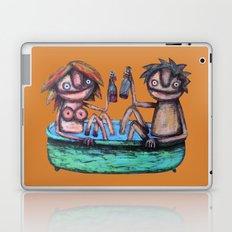 In the bath Laptop & iPad Skin