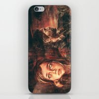 road iPhone & iPod Skins featuring The Road Less Traveled by Alice X. Zhang