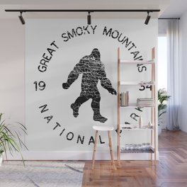 Great Smoky Mountains National Park Sasquatch Wall Mural