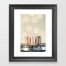 macarons ... 3 Framed Art Print